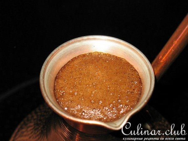 Как варить кофе в турке с пенкой
