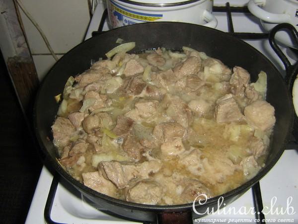 Мясо по-гречески рецепт