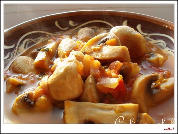 Блюда грибов шампиньоновы