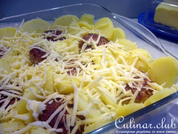 Картошка под сливочным соусом