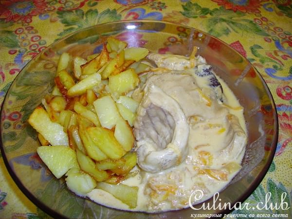 Как вкусно приготовить налима с картошкой в духовке рецепт