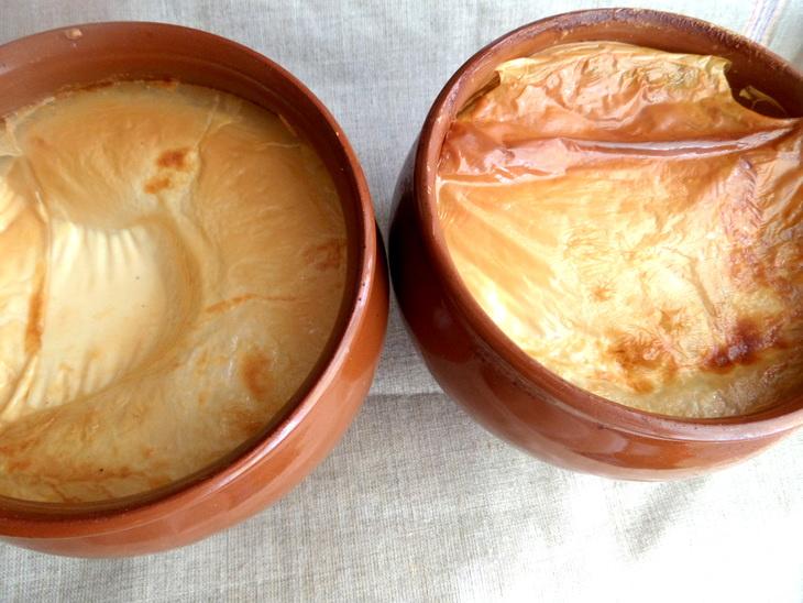 Молоко топленое в духовке с фото