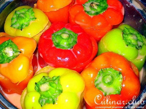 Ленивые фаршированные перцы рецепт с фото
