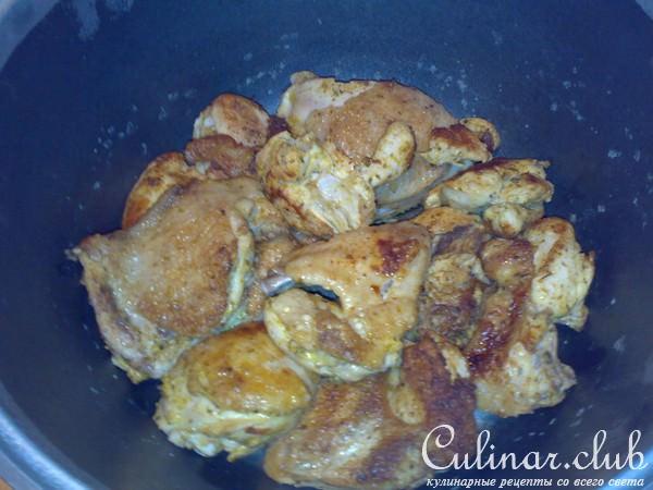 Шампиньоны курица рецепт с пошагово