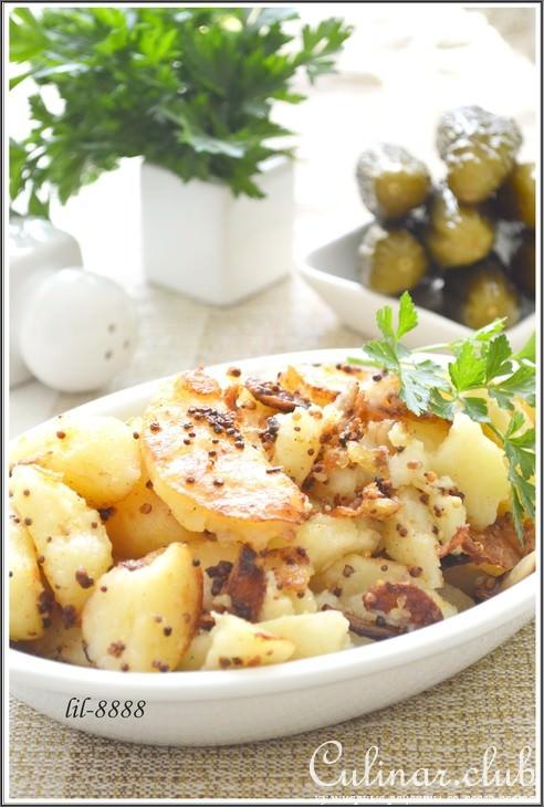 Картошка в белом вине