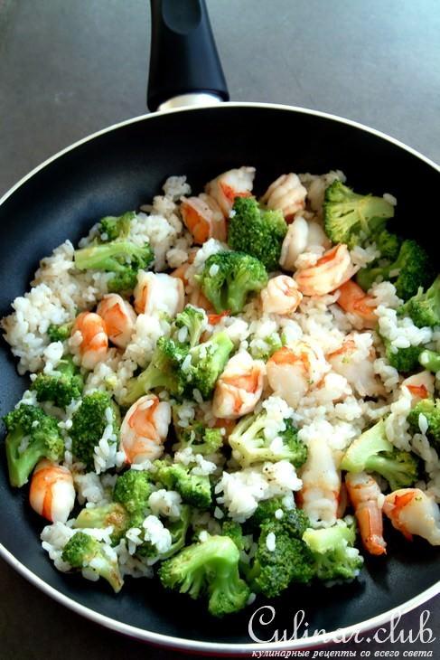 Что приготовить из кальмаров и риса