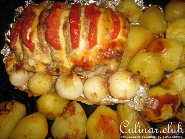 Рецепт мясо гармошка с картошкой рецепт