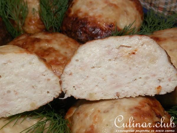 куриные котлеты в духовке рецепт с фото