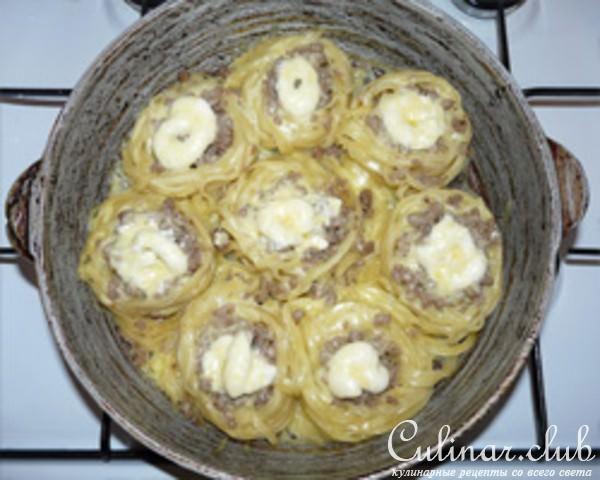 Гнезда фаршированные рецепт пошагово