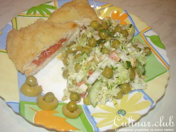Легкий осенний салат рецепт с фото