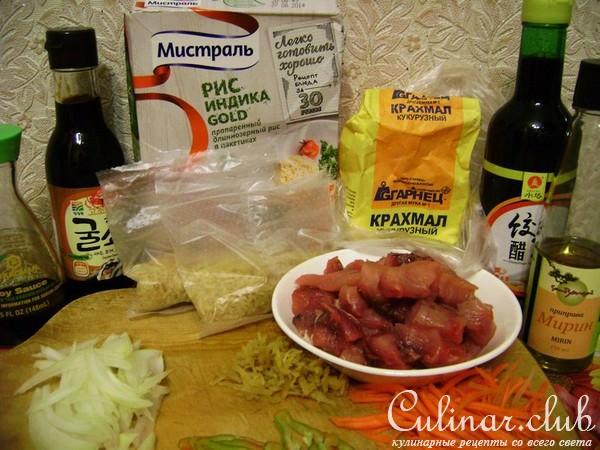 Сазан в кисло-сладком соусе по-китайски с рисом Индика голд от «Мистраль» за 30 минут.
