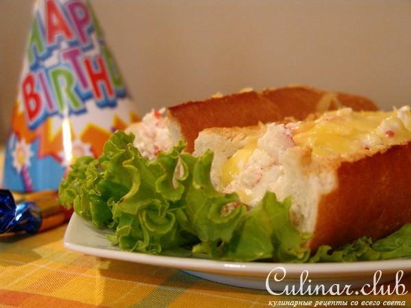 бутерброды с морепродуктами рецепты с фото