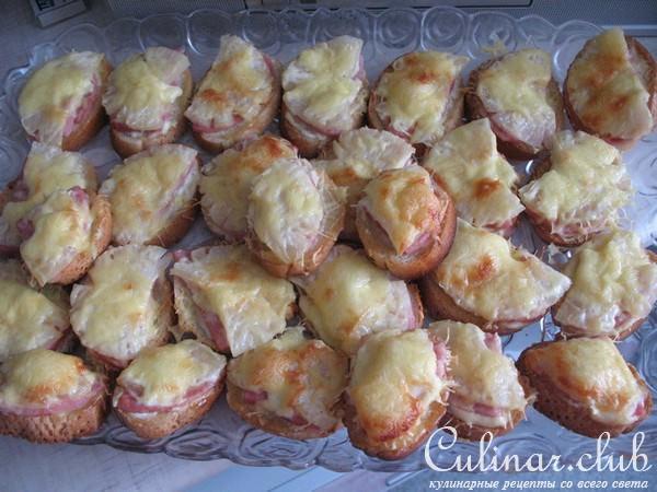Бутерброды с ананасами в духовке рецепт
