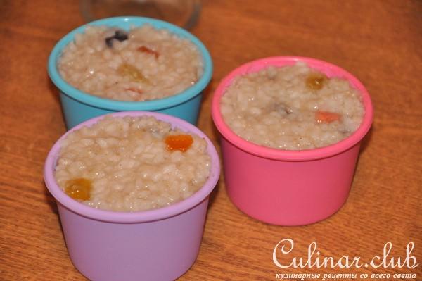 Рисовый пудинг постный рецепт