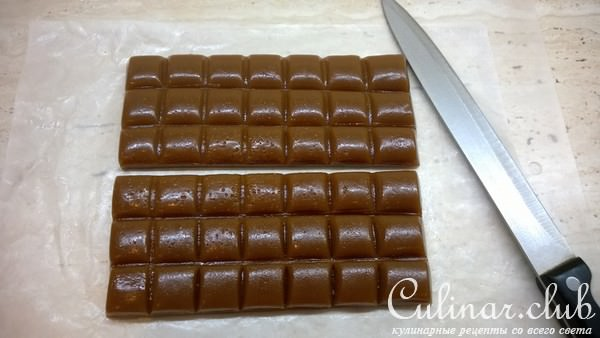 Как сделать конфеты ириска