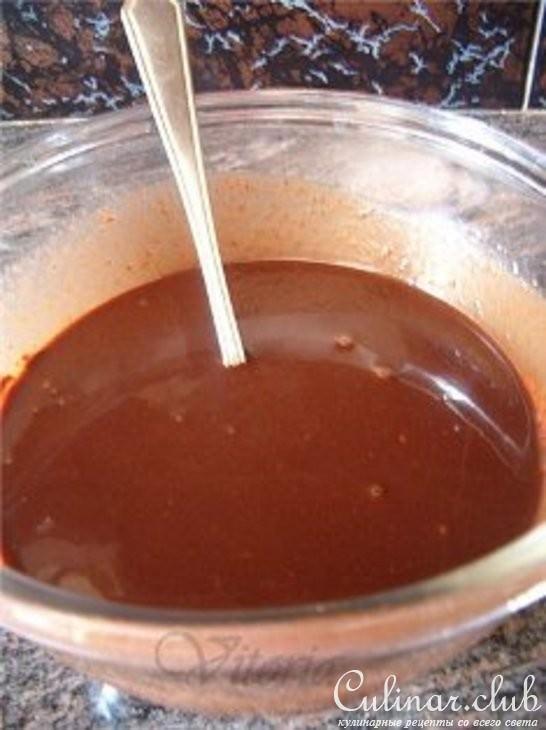 Глазурь шоколадная рецепт с фото пошагово