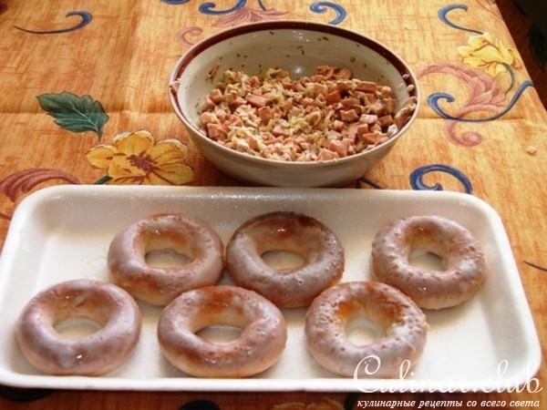 Фаршированные сушки пошаговый рецепт с