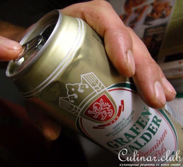 курица на банке с пивом рецепт фото
