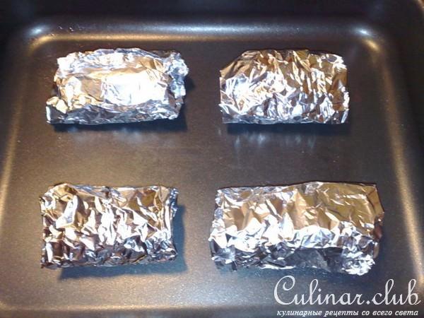 Куриный рулет в сыре и в фольге рецепт