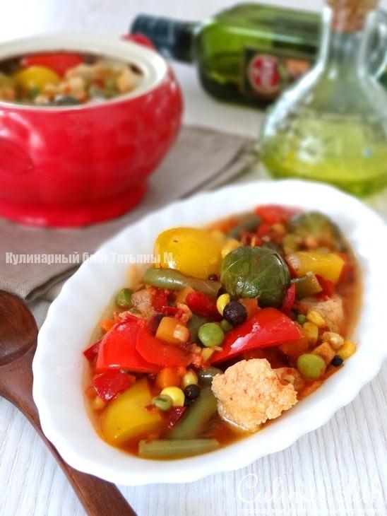 Овощи горшочках рецепты фото