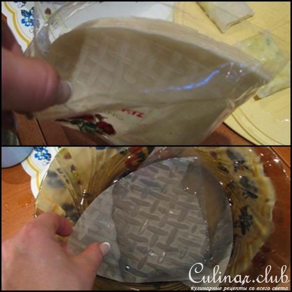 Рисовая бумага рецепты приготовления с фото