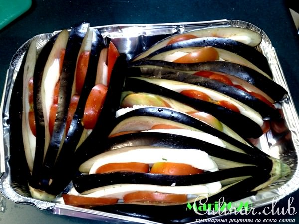 Баклажаны веером рецепты