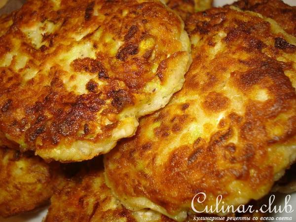 Котлеты из кабачков с картошкой рецепты