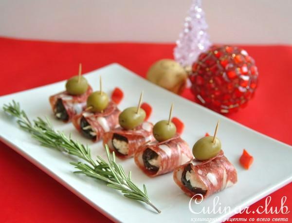 Легкие закуски на новый год рецепты