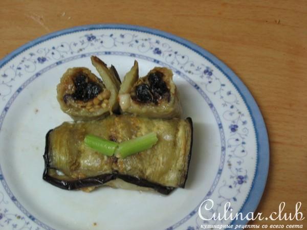 Рецепт баклажан грецкими орехами с фото
