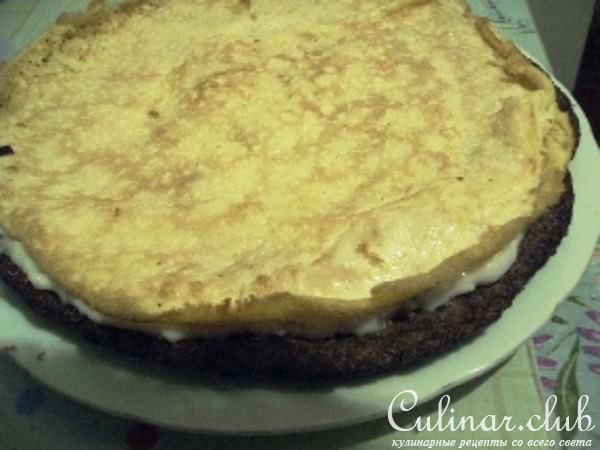 Торт печеночный с майонезом и чесноком рецепт с пошагово
