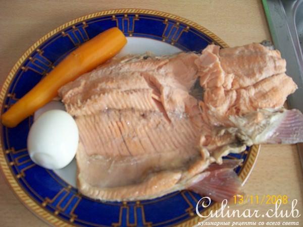 заливная форель рецепт с фото