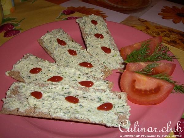 Закуски из творога рецепты с фото
