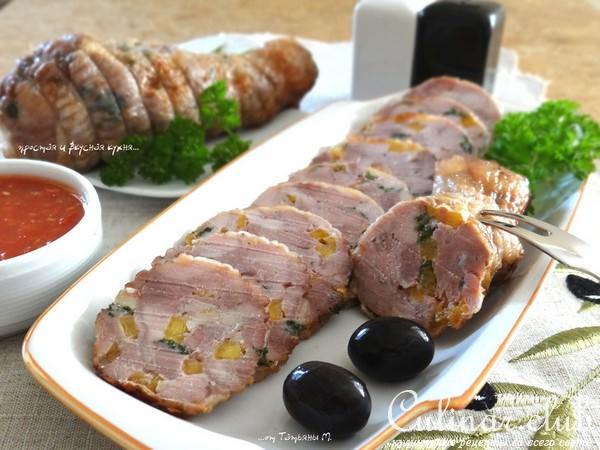 холодные закуски из мяса с фотографиями