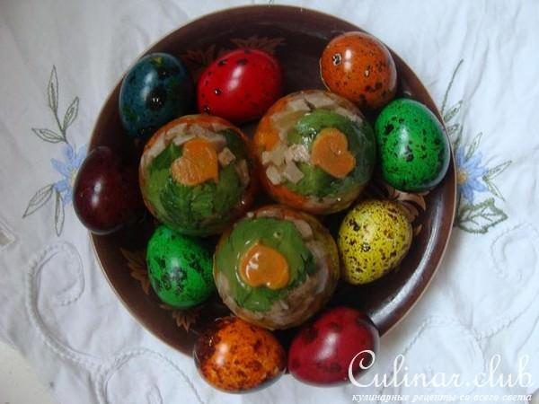 Яйца фаберже рецепт с фото