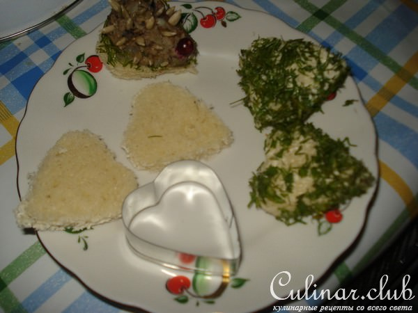 Канапе ежик рецепт с фото