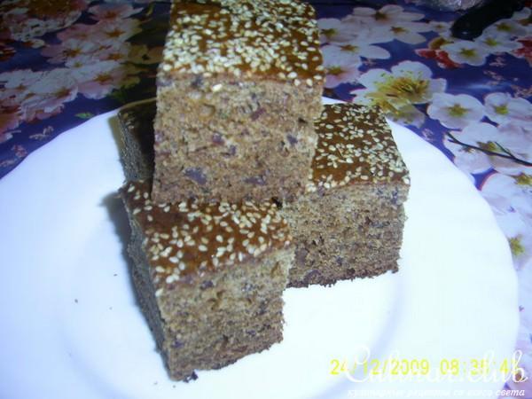 Морковная коврижка рецепт с фото