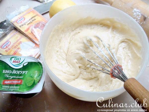 Рецепт крема с йогуртом для