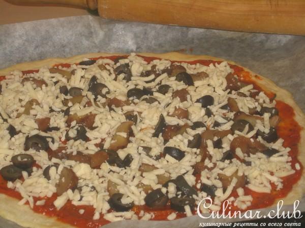 Пицца в домашних условиях на бездрожжевом тесте
