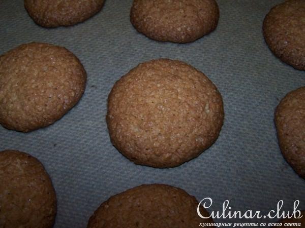 Овсяное шоколадное печенье рецепт с пошагово