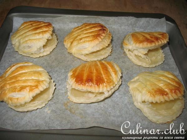 тарталетки слоеные рецепты с фото начинка