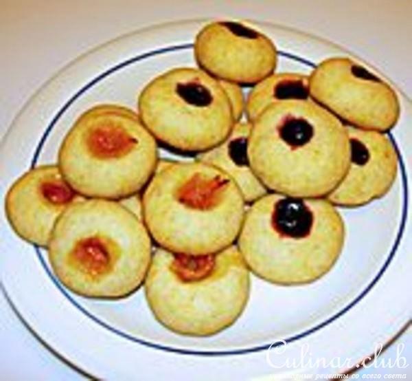 Печенье анютины глазки рецепт с фото