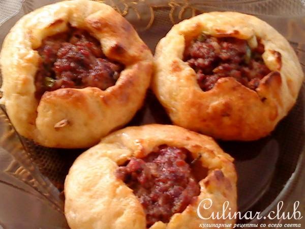 Рецепты беляшей с мясом в духовке