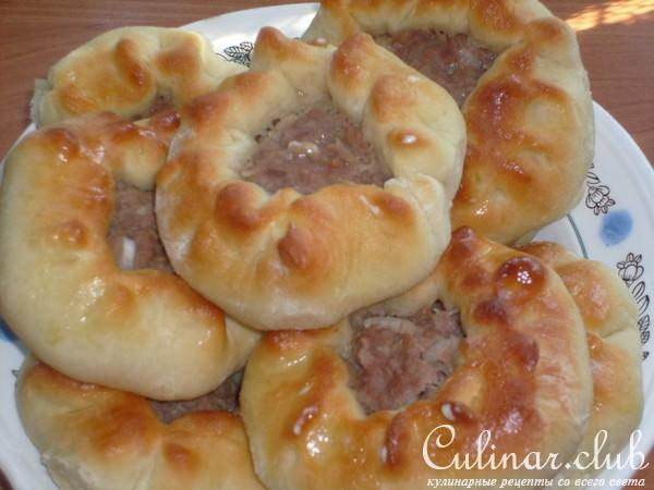 пирожки фарша духовке фото рецепт