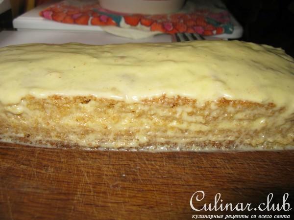 Торт из творога и кефира рецепт