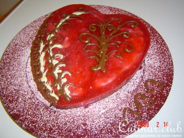 Торты для любимого с рецептом и
