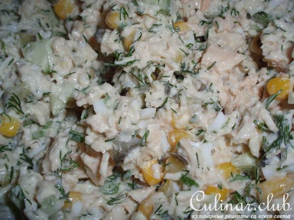 салат из кролика рецепты с фото