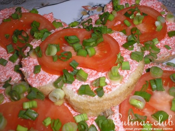 Бутерброды с икрой мойвы рецепты фото