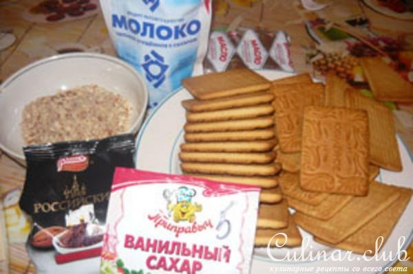 Пирожное картошка как сделать со сгущенкой