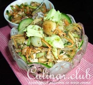 Салат мужской каприз с помидорами рецепт с