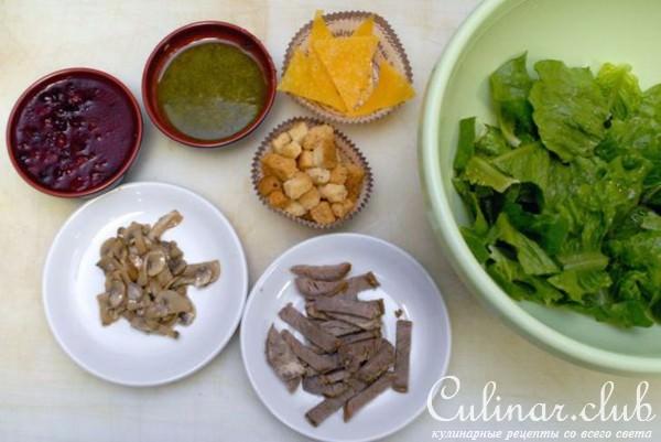Римская охота салат фото